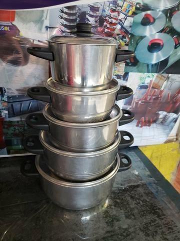 Panelas alumínio colorido - Foto 2