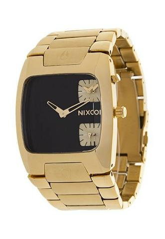 9341c0ab686 Relógio Nixon The Banks dourado - Bijouterias