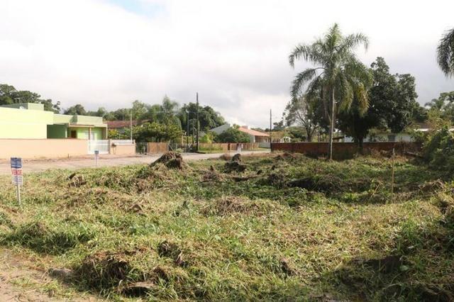 Terreno de esquina medindo 384 m² localizado na praia da Barra do Saí !! - Foto 5
