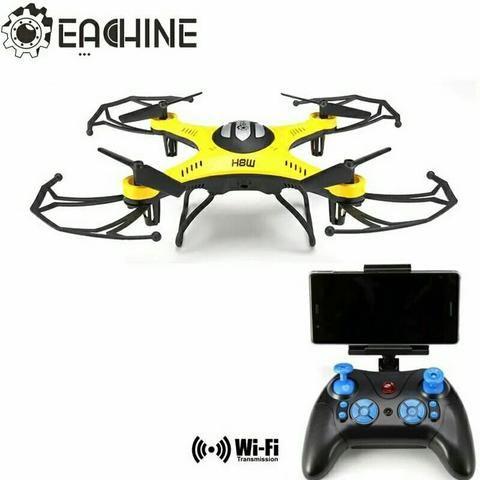Drone JJRC H8W com câmera Wifi