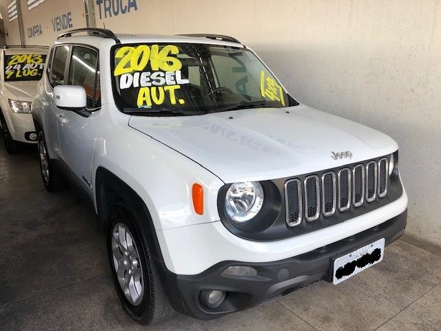 Jeep Renegade Lngtd 2.0 At 2015/2016 Diesel Branco - Foto 2