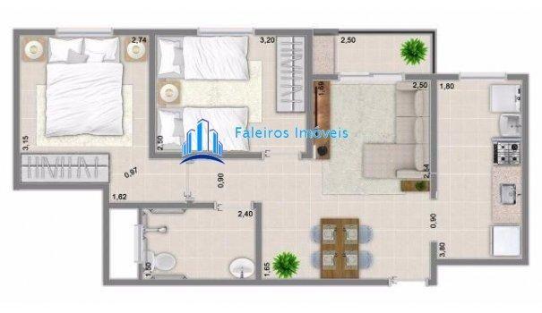Apartamento 2 dormitórios com sacada - Minha Casa Minha Vida - Apartamento em La... - Foto 19