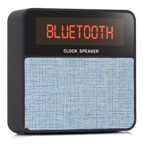 R$79,90 Radio Relógio Digital Bluetooth Usb Sd Mp3 Fm Despertador - Foto 6