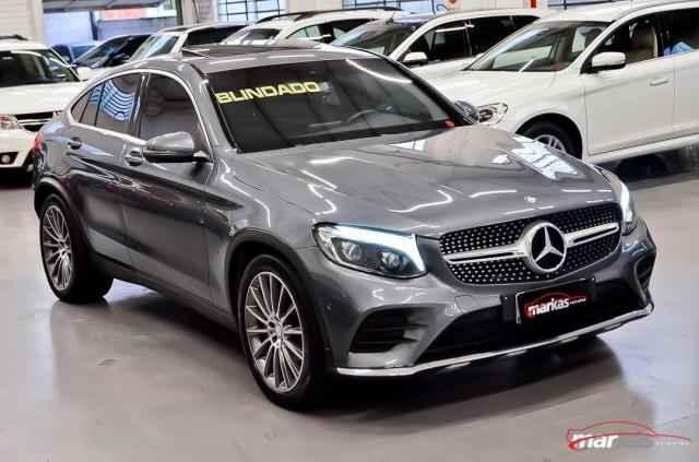 Mercedes GLC 250 2.0 4MATIC 211HP TETO 4X4 NIVEL 3 NA LAF BLINDADOS GARANTIA ATE 2022 4P - Foto 3