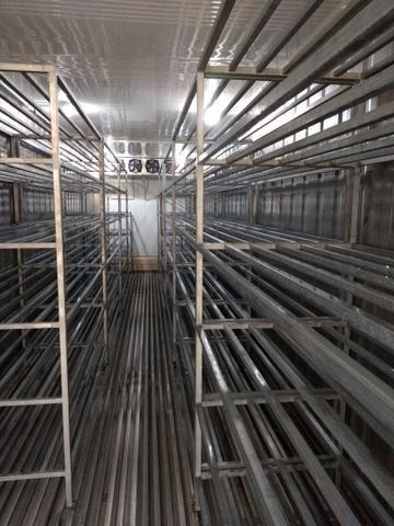 Container climatizado com prateleiras em aço galvanizado - Foto 2