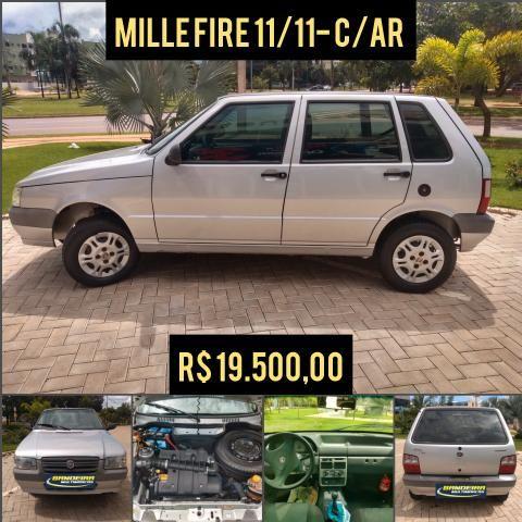 Mille economy c/ar apenas R$ 19.500,00