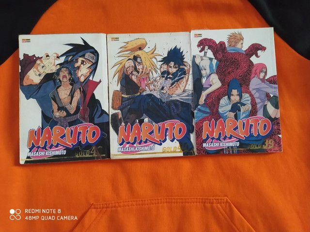 Diversos mangás de Naruto - Foto 3