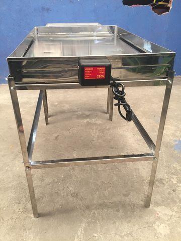 Marmiteiro em aço inox elétrico 25 marmitas - Foto 2