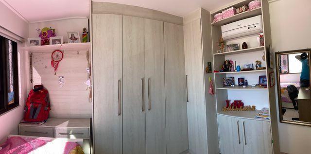Excelente apartamento,92m2-3Qtos+1DCE-Capim Macio - Foto 12