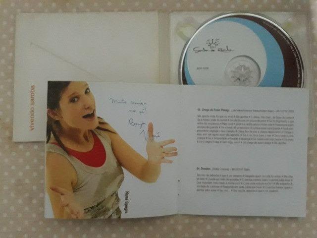 CD Samba de Rainha - Vivendo Samba - autografado - Foto 5