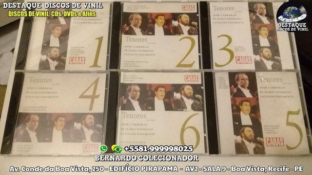 CDS de Novelas e Filmes, Coleções de Clássicos e Tenores, DVDs e Discos de Vinil - Foto 4