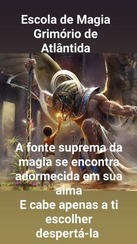 Mestre Zoroastros Miguel - Escola de Magia Grimório de Atlântida ?? Curso de Magia Online - Foto 6