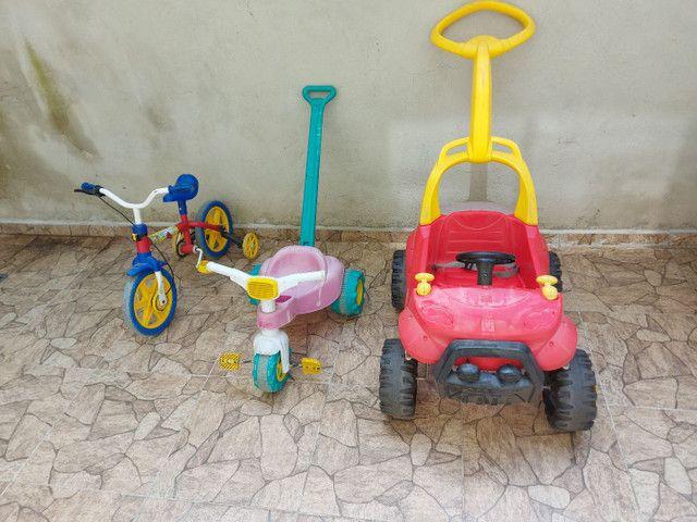 Velotrol bicicleta carro