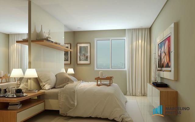 Apartamento com 2 dormitórios à venda, 53 m² por R$ 360.684,20 - Jacarecanga - Fortaleza/C - Foto 20