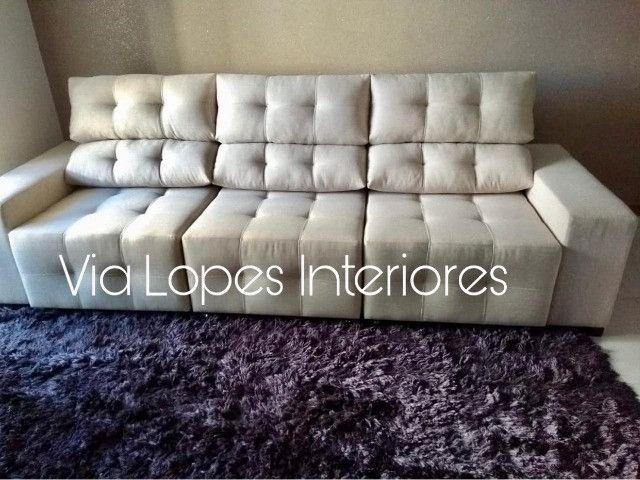 Mesa quadrada com oito cadeiras X aqui na Via Lopes Wpp * - Foto 6