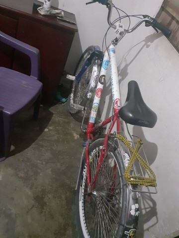 Bicicleta de 6 mancha