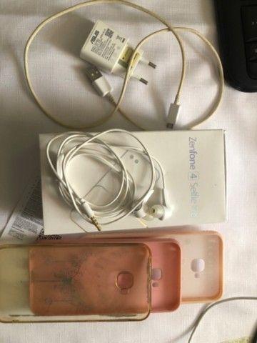 Celular Zenfone 4 Selfie Pro Dourado - Foto 3
