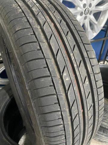 Pneus Bridgestone Ecopia - 205 60R16 (semi novos) - Foto 2