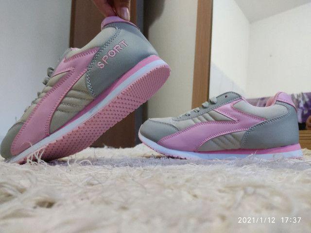 Tênis esportivo feminino - Foto 4