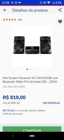 Som mini system Panasonic - Foto 2