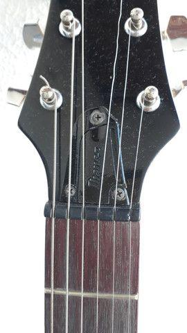 Guitarra ibanez gax 30 regulada com trastes novos - Foto 5