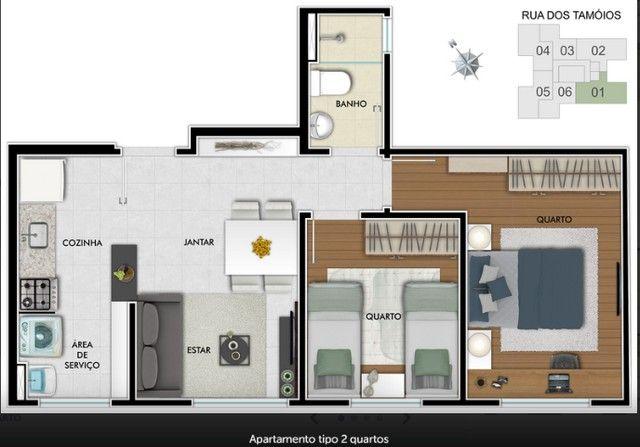 Apartamento De  1 e 2 Quartos Centro-BH Com Lazer - Foto 10