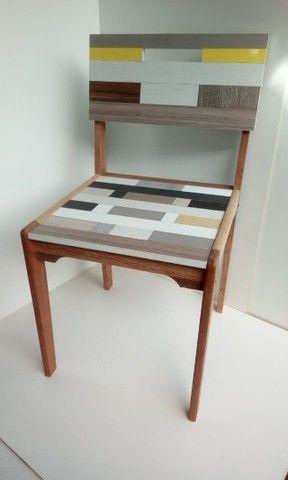 Vendo Cadeira - Mosaico - Frete Grátis - Foto 3
