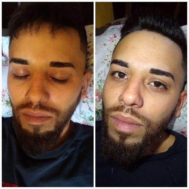 Limpeza de pele, extensão de cílios, design de sobrancelhas - Foto 3