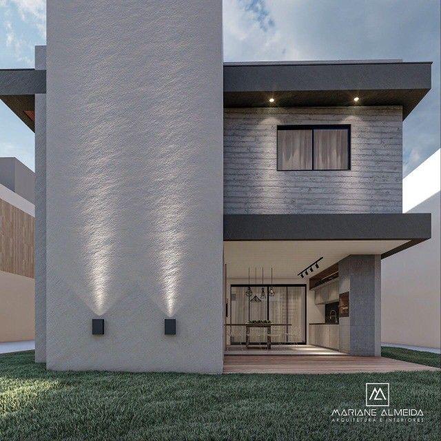 Casa moderna de 5 quartos sendo 2 suítes no condomínio Terras Alphaville. - Foto 3