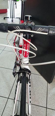 Bicicleta Trek road 1.2 alumínio 18 velocidades. - Foto 6
