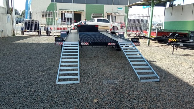 Carreta UTV/Quadriciclo/Veic leves 4,00 x 1,85m - Reboque Zero KM - / Polaris / Fourtrax  - Foto 7