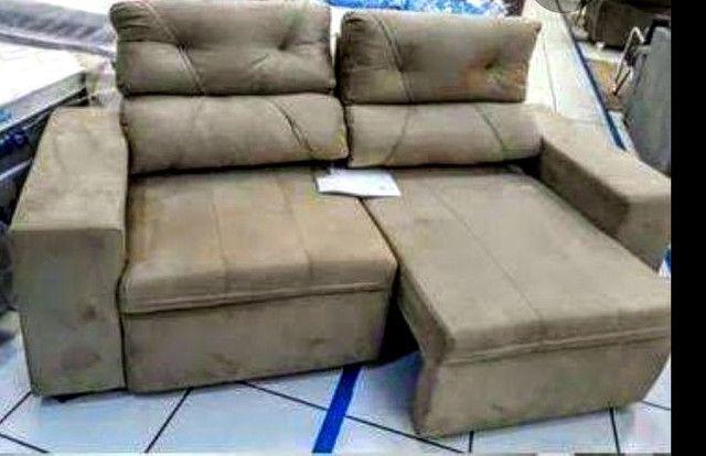 Sofá retrátil e reclinável phormatta - Foto 3