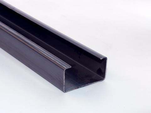 Perfil Enrijecido 75x40 (galvanizado) - Foto 2