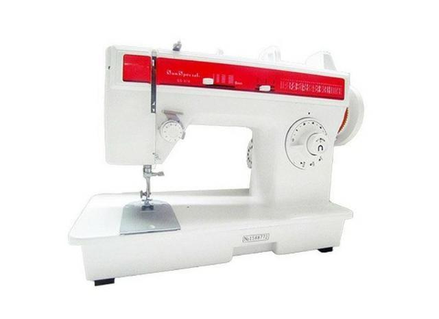 Máquina de costura doméstica, Sun Special ideal para costureiras e alfaiates. Rápida - Foto 3