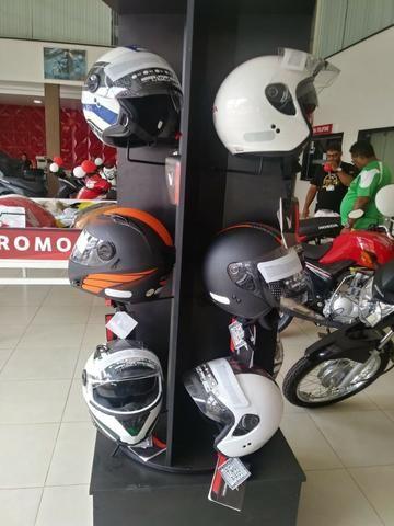 Motos Capacete Aberto Honda HSS em 6x no cartão - Foto 7