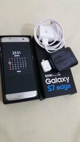 Vendo Samsung galaxy s7 edge 32gb trinco atrás ou troco por aparelho do mesmo nível