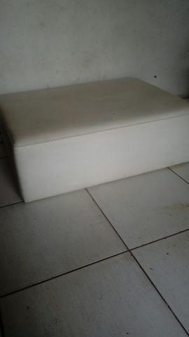 Sofa puf com rodinhas