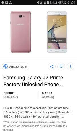 J7 prime 32 GB rose