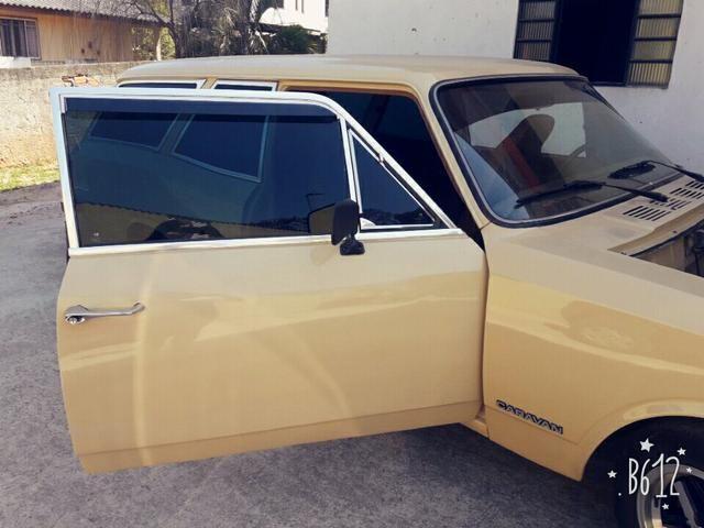 Caravan 1980, 4 cilindros, Ótimo estado
