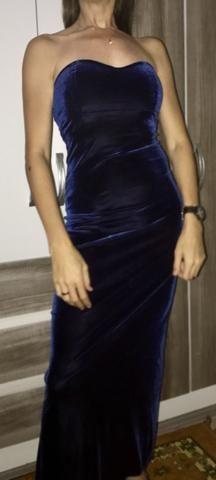 Vestido azul Royal d festa!