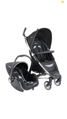 Carrinho bebe + bebe conforto Kiddo helios preto