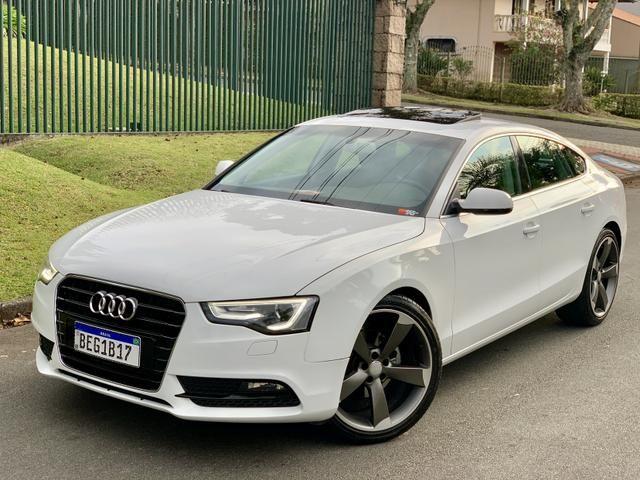 Audi A5 SportBack Ambiente 2.0TFSI 2013/2013 Top de linha - Unico Dono - Estado de Novo