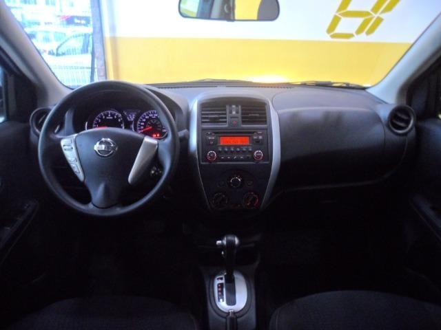 Nissan Versa 1.6 Sv flex Praticamente 0km (Aprovo com Score Baixo e por Telefone) - Foto 6