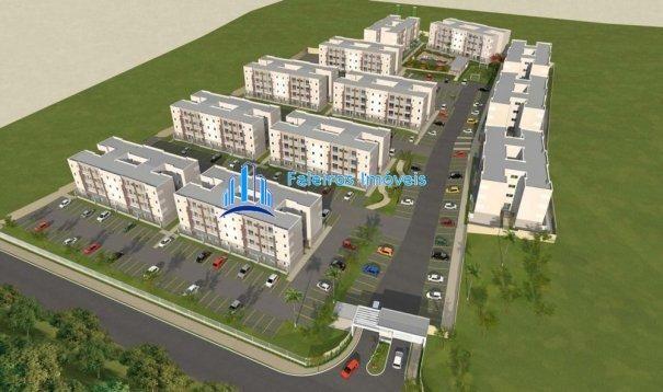 Apartamento 2 dormitórios com sacada e lazer completo MCMV - Apartamento em Lanç... - Foto 3