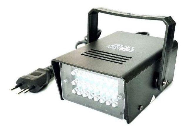 Mini Strobo Flash Projetor De Luz Branco Festa Iluminação Balada - Foto 2