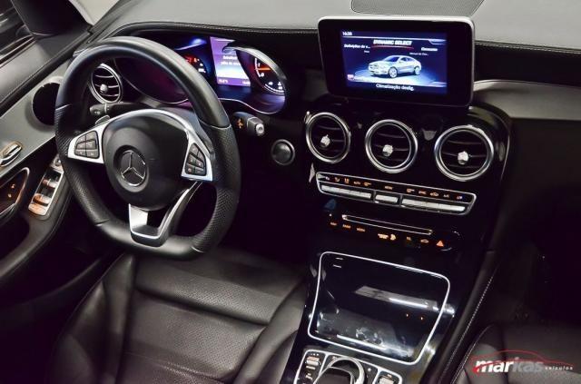 Mercedes GLC 250 2.0 4MATIC 211HP TETO 4X4 NIVEL 3 NA LAF BLINDADOS GARANTIA ATE 2022 4P - Foto 14
