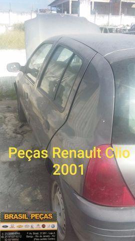 Renault Clio 2001 Somente Peças