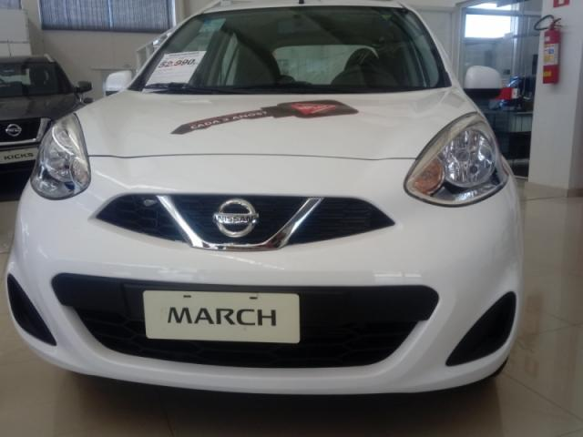 NISSAN  MARCH 1.0 SV 12V FLEX 4P MANUAL 2019