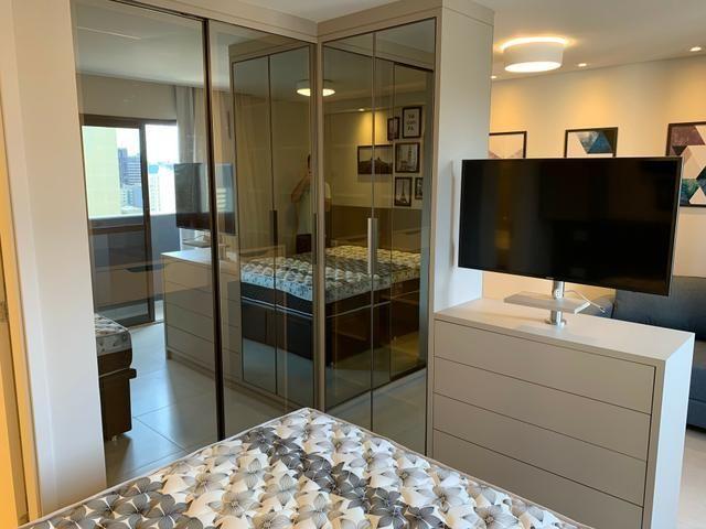 Apartamento Studio Totalmente Mobiliado no The Five East Batel - Direto com o Proprietário - Foto 5