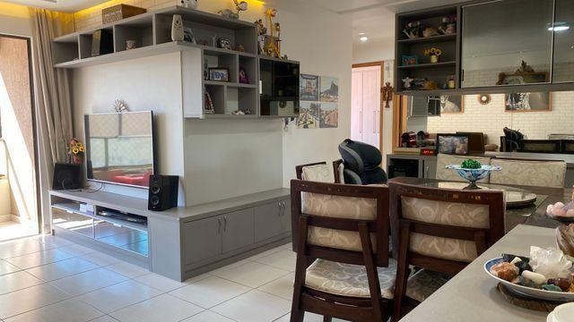 Excelente apartamento,92m2-3Qtos+1DCE-Capim Macio